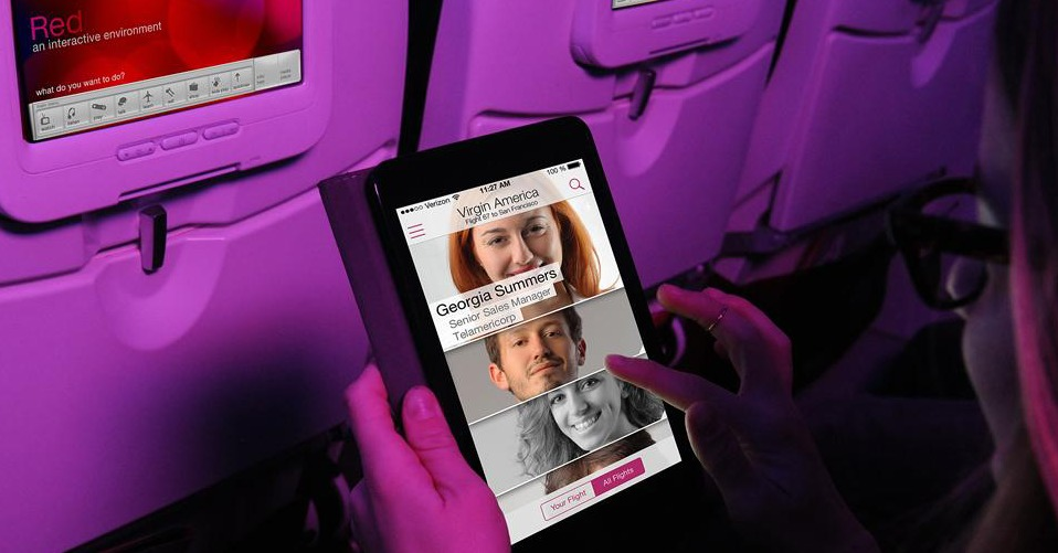 virgin america social network