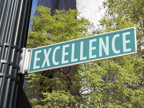 roadsign to excellence
