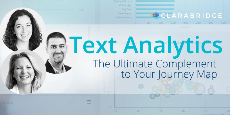 Text Analytics: The Ultimate Complement To Your Journey Map