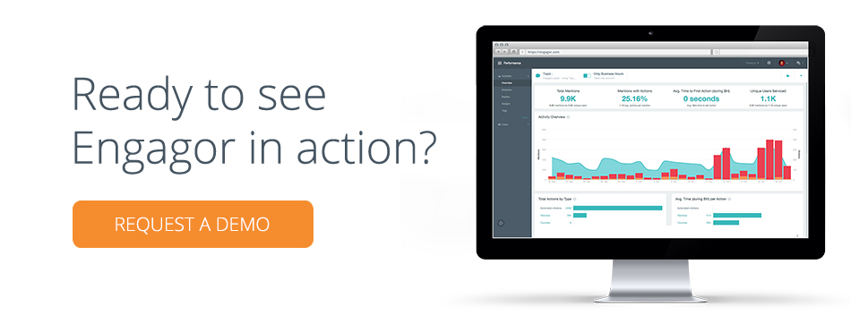 See Engagor in Action, Request a Demo