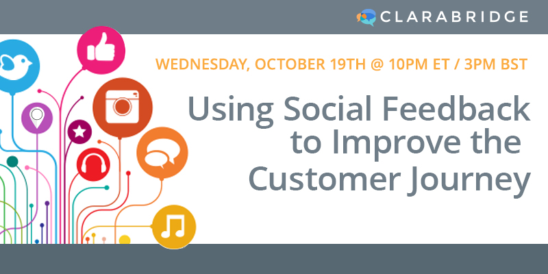 Using Social Feedback to Improve the Customer Journey