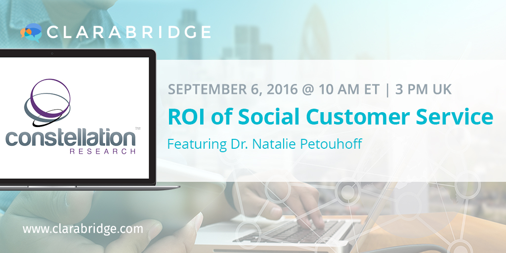 The ROI of Social Customer Service
