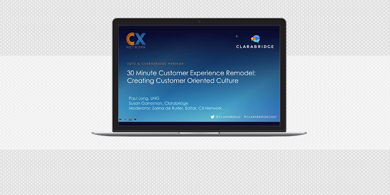 30-Minute CX Remodel: Creating a Customer-Oriented Culture