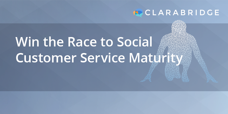 Win the Race to Social Customer Service Maturity