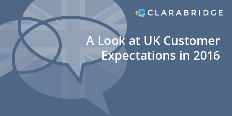 A Look at UK Customer Expectations in 2016