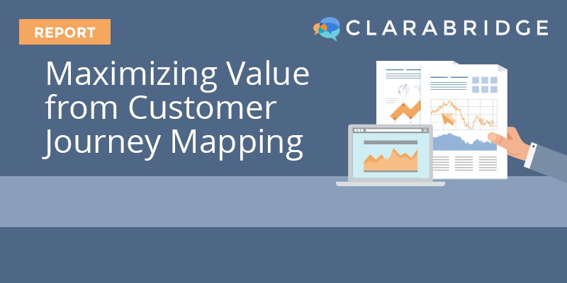 Maximizing Value from Customer Journey Mapping