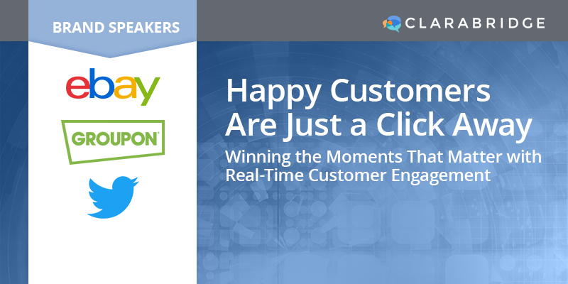 Happy Customers Are Just a Click Away