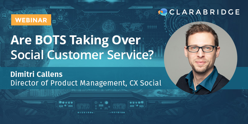 Are BOTS Taking Over Social Customer Service?