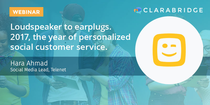 Loudspeaker to Earplugs 2017—Delivering Personalized Social Customer Service