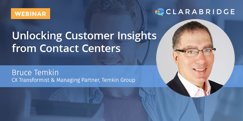 Unlocking Customer Insights from Contact Centers