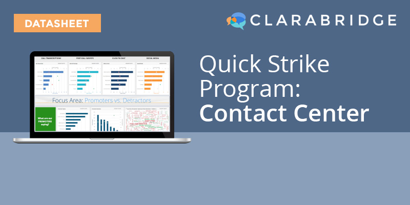 Quick Sight Program: Contact Center