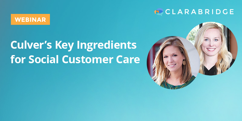Culver's Key Ingredients for Social Customer Care