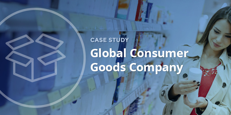 Global Consumer Goods Case Study