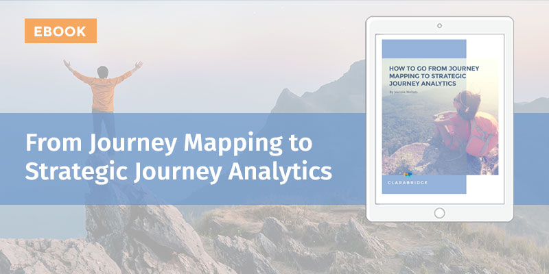 From Journey Mapping to Strategic Journey Analytics