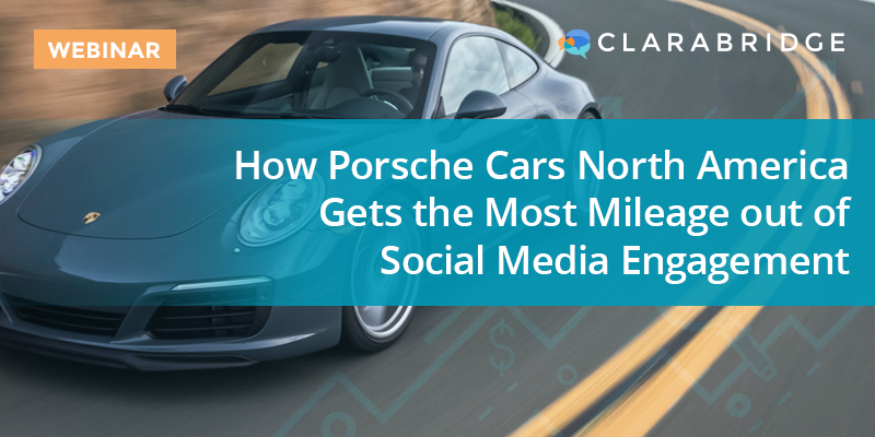 How Porsche Cars North America Gets the Most Mileage out of Social Media Engagement