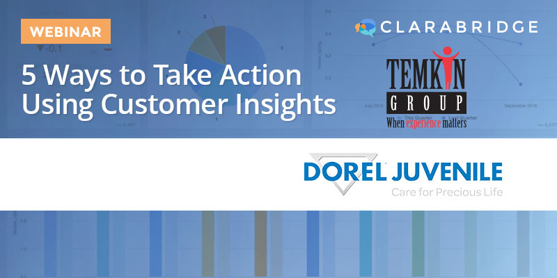 5 Ways to Take Action Using Customer Insights