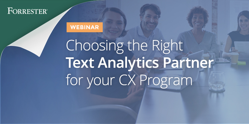 Choosing the Right Text Analytics Partner for your CX Program