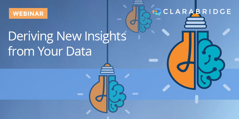 Deriving New Insights From Your Data
