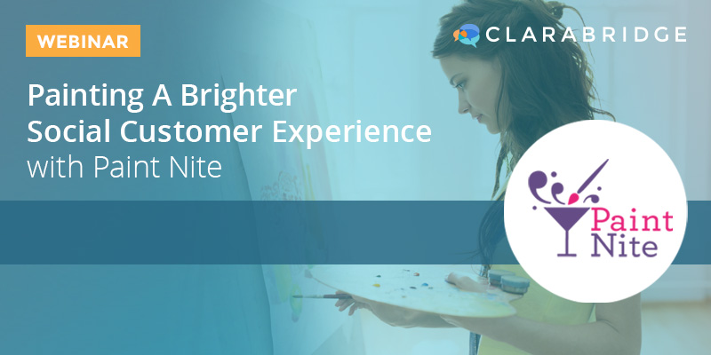 Painting a Brighter Social Customer Experience with Paint Nite