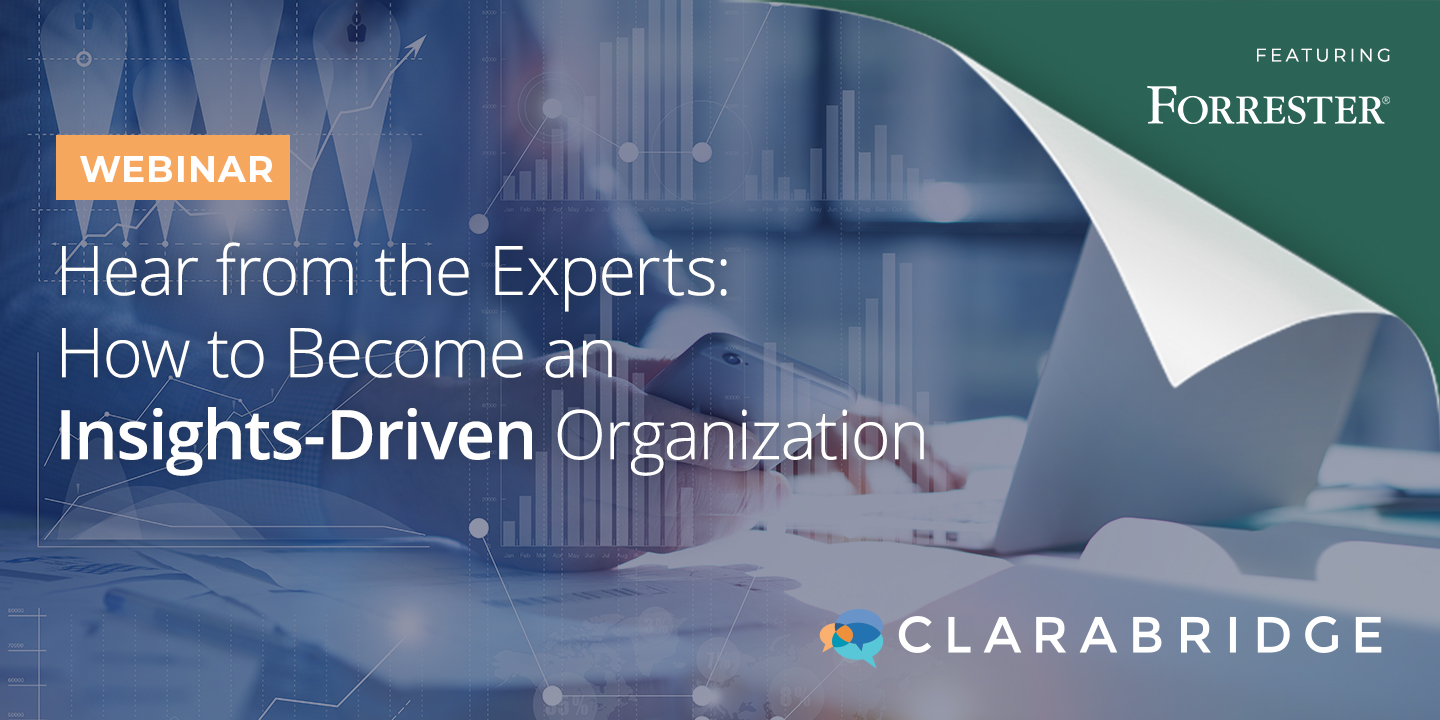 Hear from the Experts: How to Become an Insights-Driven Organization