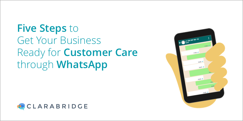 Five Steps to Get Your Business Ready for Customer Care Through WhatsApp