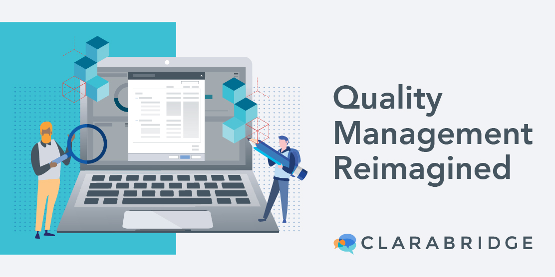 Quality Management reimagined graphic