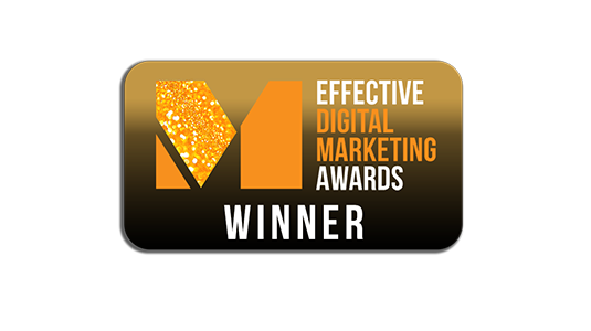 Winner, Most effective AI Solution from Effective Digital Marketing Awards