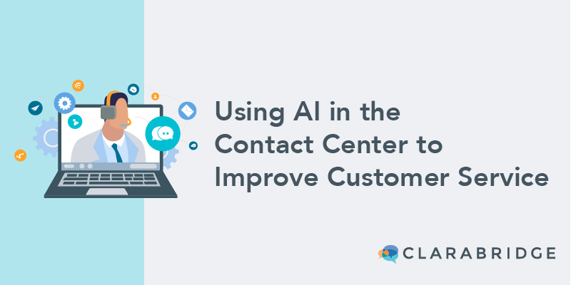 Using AI in the contact center blog
