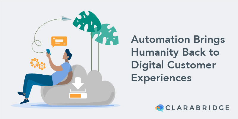 humanity in customer experiences blog image